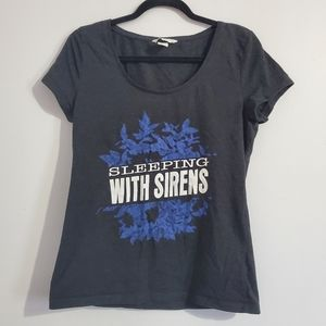 Sleeping With Sirens Band T-shirt Size XL